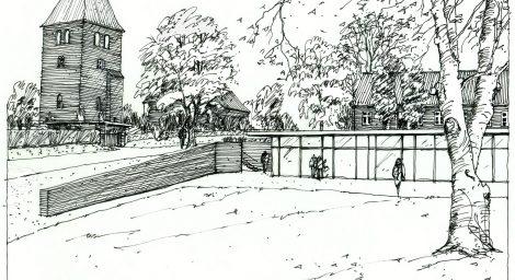 Gl. Rye kirkehus
