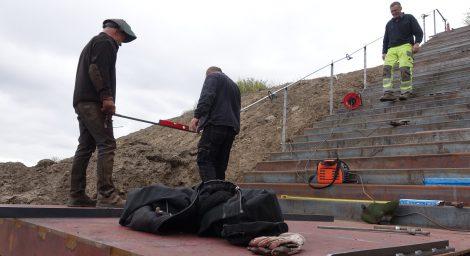 Ny trappe – FÆNGSLET i Horsens