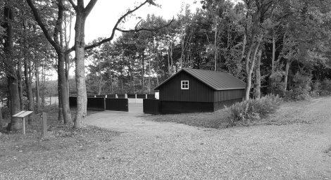 Øster NyKirke – nyt maskinhus og materialeplads
